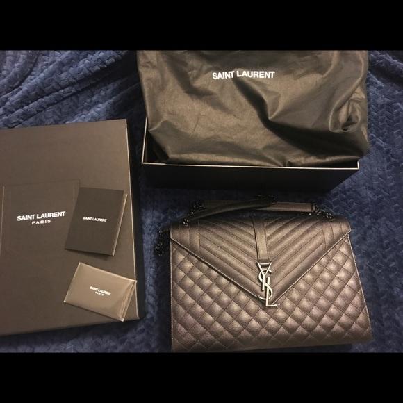 YSL Yves Saint Laurent Large Envelope Bag ebfeb62c944a2